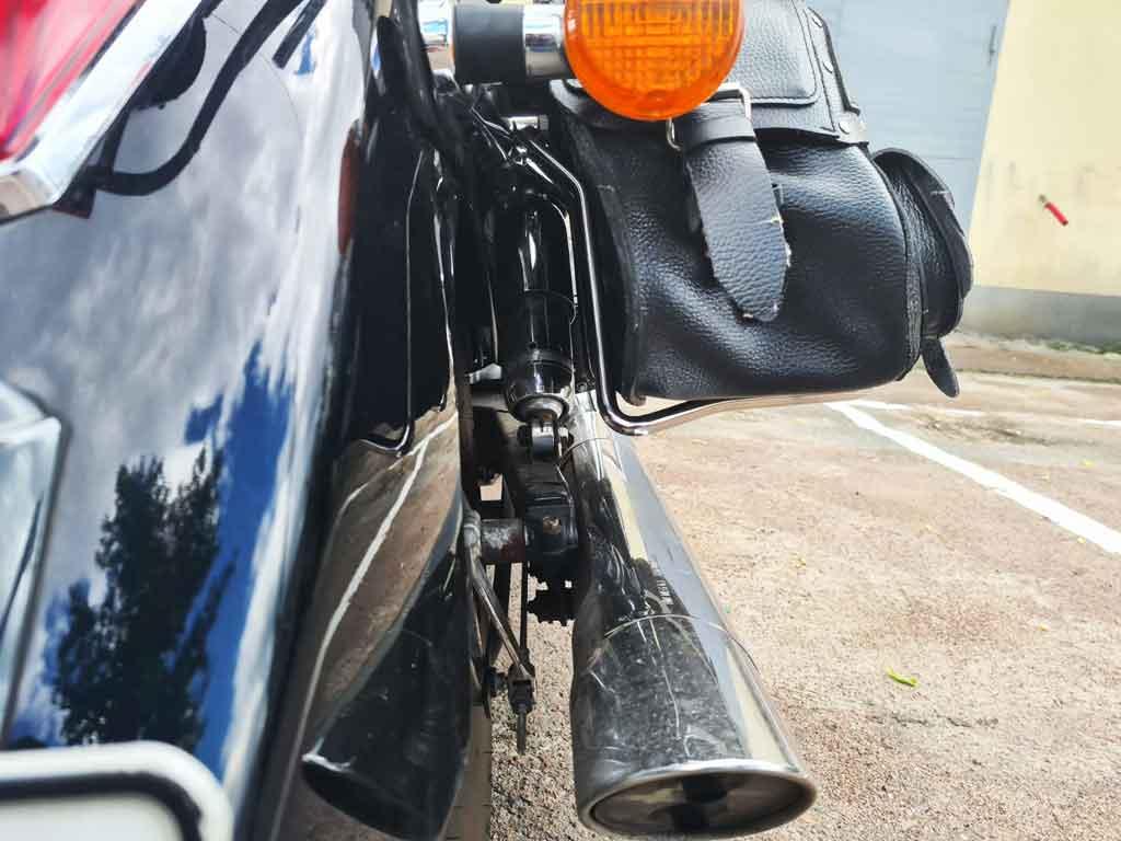Рамки бокових кофрів на мотоцикл Honda Shadow 750 (2007р.)