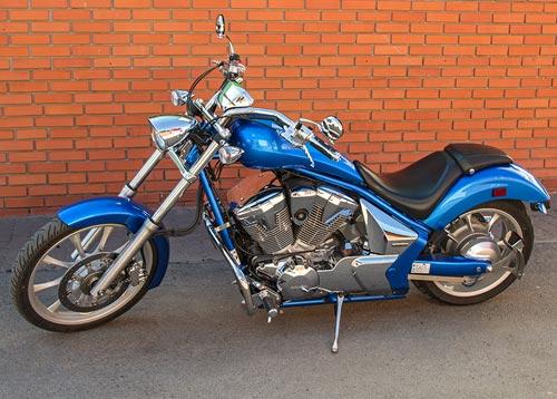 Защитные дуги на мотоцикл Honda vt1300cxa fury (2010г.)