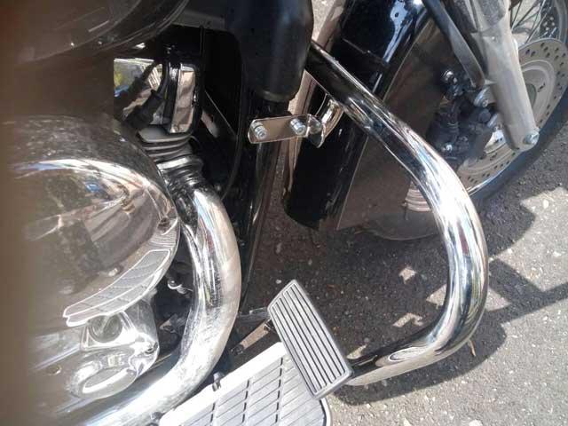 Защитные дуги на мотоцикл Honda Shadow 750 (2007г.)
