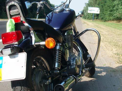 Захисні дуги на мотоцикл Suzuki Savage 400