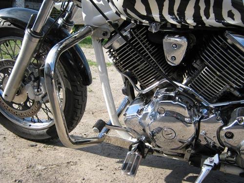 Захисні дуги на мотоцикл Yamaha Drag Star 1100 Custom (2001р.)