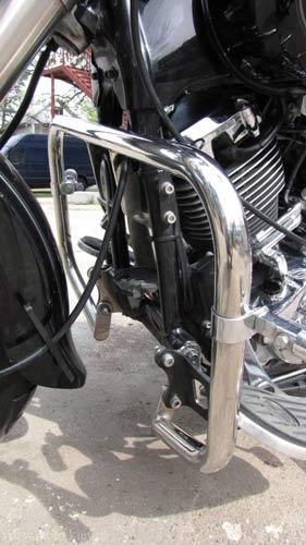 Защитные дуги на мотоцикл Yamaha Drag Star XVS 400, 650A Classic