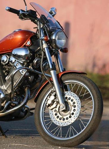 Защитные дуги на мотоцикл Yamaha Virago 400