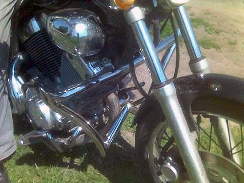 Захисні дуги на мотоцикл Yamaha Virago 535