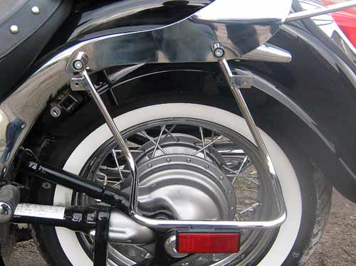 Рамки кофров на мотоцикл Suzuki Bolevard C50t (2012г.)