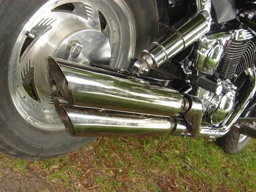 Exhaust pipe for Suzuki Desperado 400
