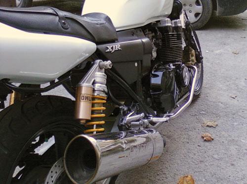 Защитные дуги на мотоцикл Yamaha XJR 400