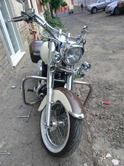 Защитные дуги на мотоцикл Honda Shadow ACE 400-750 (1998-2003г.)