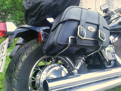 Рамки кофрів на мотоцикл Honda Shadow Spirit 750 (2005р.)