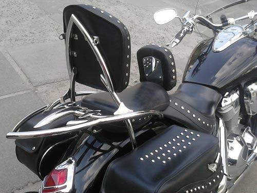 Спинки с багажником на мотоцикл Honda VTX 1800S