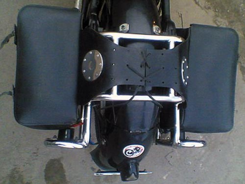 Luggage Racks & support for additional headlights for Днепр К-750
