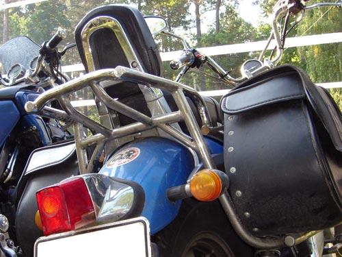 Багажніки з підставками для кофрів на мотоцикл Raketa Futong QJ250-H
