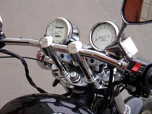 Стійки руля на мотоцикл Yamaha Virago 535